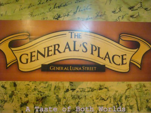 The general's place